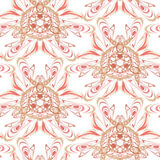 Seamless pattern with clipping path Royalty Free Stock Photography