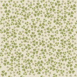 Seamless pattern with Clover leaves for St. Patrick's day Stock Image