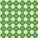 Seamless pattern clover;. Magical background. vector format Royalty Free Stock Image