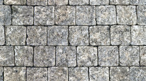 Seamless pattern of cobbles Royalty Free Stock Images