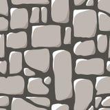 Seamless Pattern. Cobblestone Pavement Stock Images
