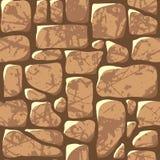 Seamless Pattern. Cobblestone Pavement Stock Photo