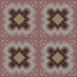 Seamless pattern in cocoa hues Stock Image