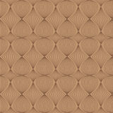 Seamless pattern in coffee tones. Seamless pattern of lines style in coffee tones royalty free illustration