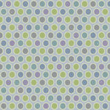 Seamless pattern of cold pastel tones of the colored ovals. Royalty Free Stock Photos