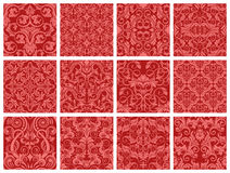 Seamless pattern collection Stock Image