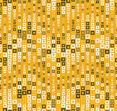 Seamless pattern on a color background. Has the shape of a wave. Consists of through geometric elements in color. Useful as design element for texture, pattern Royalty Free Stock Images