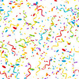 Seamless pattern with color confetti Royalty Free Stock Photo