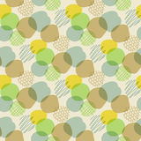 Seamless pattern with color spots Stock Photos