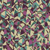 Seamless pattern with colored autumn leaves. Vector illustration. Seamless pattern can be used for wallpaper, pattern fills, surface textures Royalty Free Stock Photography