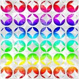 Seamless pattern with colored circles Stock Image