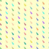 Seamless pattern. Colored drops Stock Photos