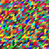 Seamless pattern of colored geometric shapes Stock Photos