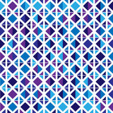 Seamless pattern of colored geometric shapes Stock Image