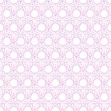Seamless pattern of geometric colored shapes royalty free illustration