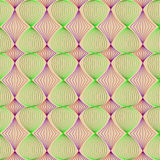 Seamless pattern of colored lines. Vector illustration Royalty Free Stock Photography