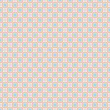 Seamless pattern - colored pastel geometric doodle patterns on white background. EPS Vector file. Suitable for filling any form stock illustration