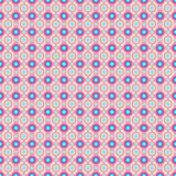 Seamless pattern - colored pastel geometric doodle patterns on white background. EPS Vector file. Suitable for filling any form royalty free illustration
