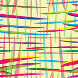 Seamless pattern with colored ribbons Stock Photography