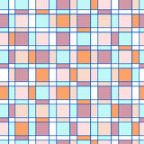 Seamless pattern with colored square Royalty Free Stock Photo