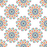 Seamless pattern of colored squares. Eps 10 Stock Photos