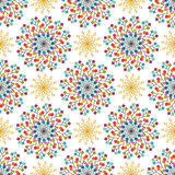 Seamless pattern of colored squares. Eps 10 Royalty Free Stock Photography
