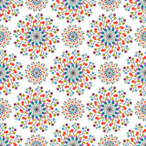 Seamless pattern of colored squares. Eps 10 Stock Photo