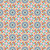 Seamless pattern of colored squares. Eps 10 Royalty Free Stock Photos