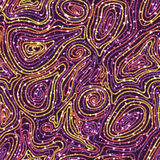 Seamless pattern with colored threads Royalty Free Stock Images