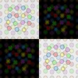 Seamless pattern of colorful balloons Stock Image