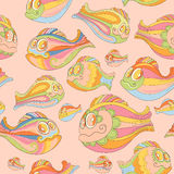 Seamless pattern with colorful Royalty Free Stock Photography