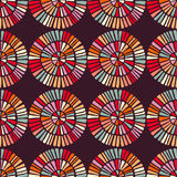 Seamless pattern with colorful circle shapes Royalty Free Stock Image