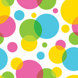 Seamless pattern. Of colorful circles Royalty Free Stock Photos