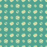 Seamless pattern with colorful dots Stock Image