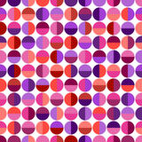 Seamless pattern with colorful geometric shapes Royalty Free Stock Image