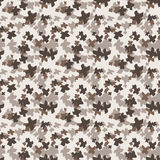 Seamless pattern of colorful hand-painted crosses Royalty Free Stock Photos