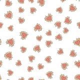 Seamless pattern with colorful hearts for Valentine s Day. Vector vector illustration