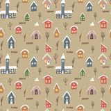 Seamless pattern with colorful royalty free illustration