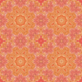 Seamless pattern with colorful leaves Stock Photo