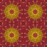 Seamless pattern with colorful leaves Stock Photos
