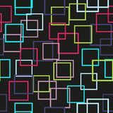 Seamless pattern with colorful rectangle squares. Vector. Seamless pattern with colorful rectangle squares. Vector Stock Image