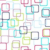 Seamless pattern with colorful rectangle squares. Vector. Seamless pattern with colorful rectangle squares. Vector Royalty Free Stock Photos