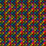 Seamless pattern with colorful rhomboid shapes Royalty Free Stock Photography