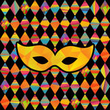 Seamless pattern with colorful rhombus Royalty Free Stock Image