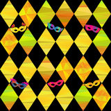 Seamless pattern with colorful rhombus Stock Photography