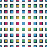 Seamless pattern with colorful squares royalty free stock image