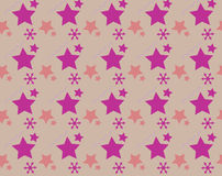 Seamless pattern with colorful star Royalty Free Stock Photography
