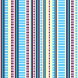 Seamless pattern with colorful stripes Royalty Free Stock Image