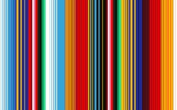 Mexican Blanket Stripes Seamless Vector Pattern. Seamless pattern with colorful stripes for fabric and wallpaper. Mexican Blanket Stripes Seamless Vector Royalty Free Stock Photos