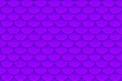 Seamless pattern of colorful violet purple fish scales. Fish scales, dragon skin, Japanese carp, dinosaur skin, pimples. Reptile, snake skin, shingles. Vector Royalty Free Stock Photo